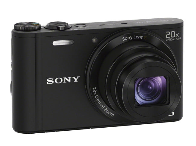 sony unveils new cyber shot point and shoot cameras  dsc wx black left wide jpg