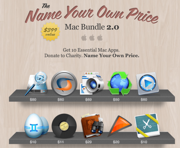 DT Deals name your own price mac bundle 2.0