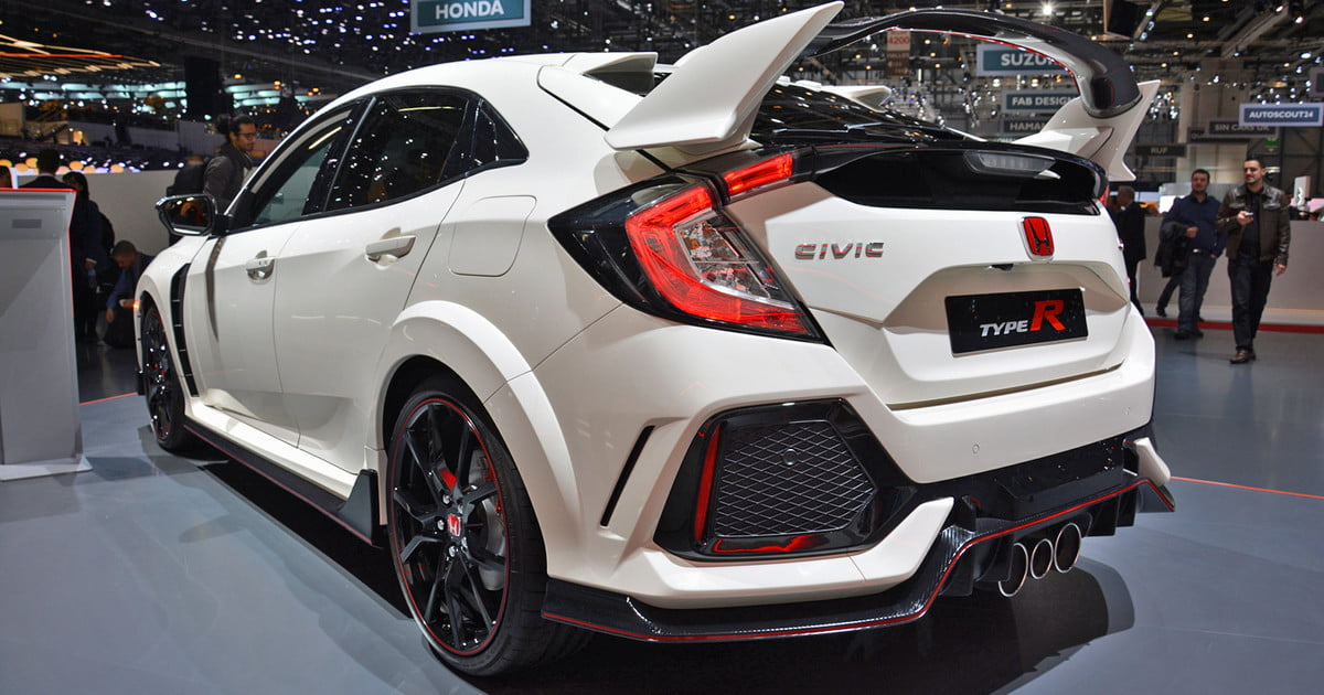 the honda civic type r makes its u s debut at autocon in. Black Bedroom Furniture Sets. Home Design Ideas