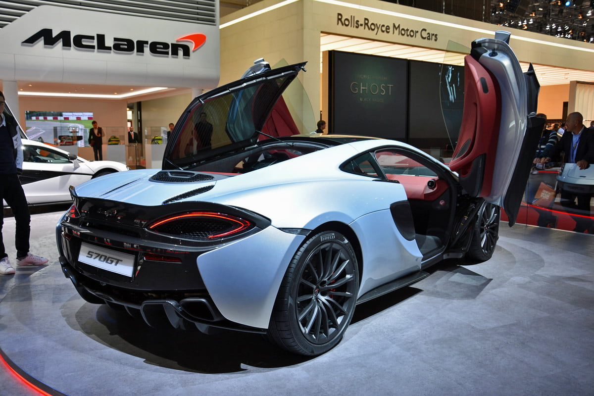 mclaren considers four seater news report quotes  gt