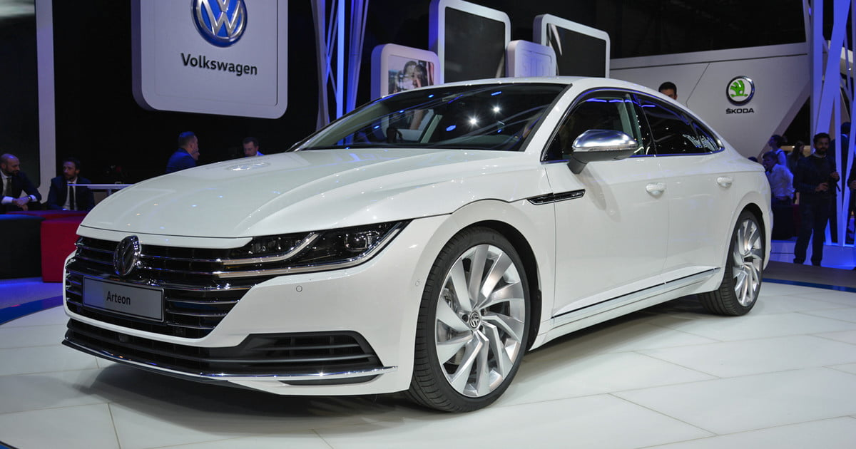 volkswagen arteon to debut at the 2017 geneva motor show photos details specs digital trends. Black Bedroom Furniture Sets. Home Design Ideas