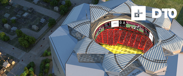With 1,100 feet of screen and 1,800 hotspots, this is the stadium of the future
