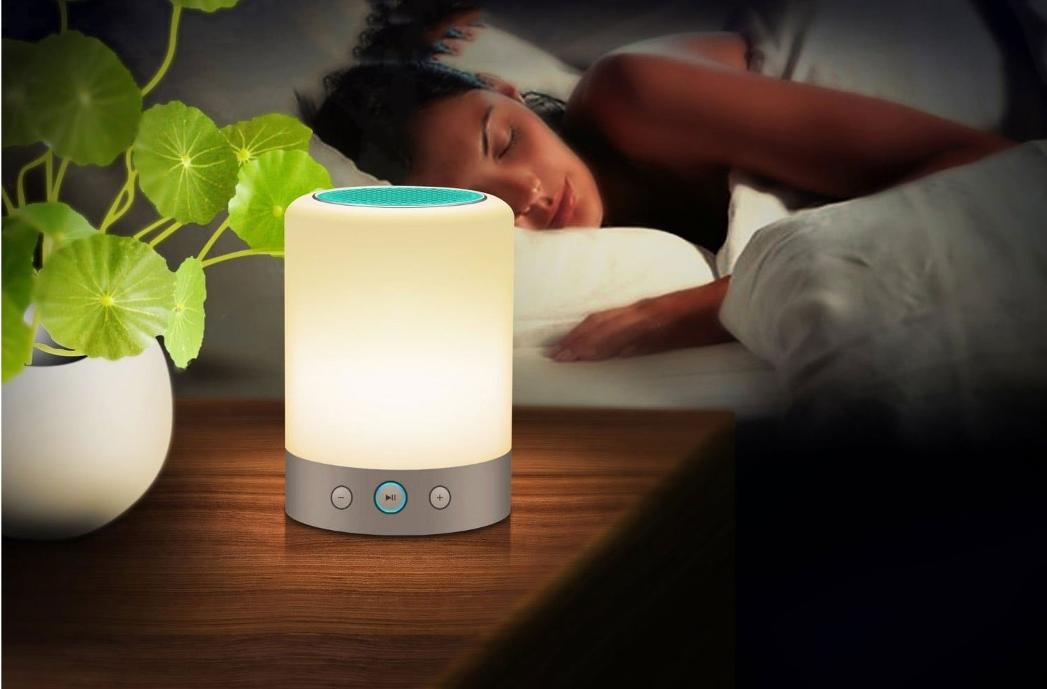 Lightstory Portable LED Smart Touch Lamp, Bluetooth ...