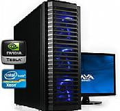 AVA Direct Workstation PC Dual Xeon E5-2600 Six-Core Tesla HPC Personal Supercomputer