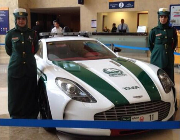 Dubai Police Department Aston Martin One-77