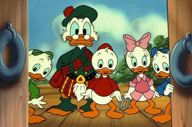 disney xd will reboot ducktales cartoon in