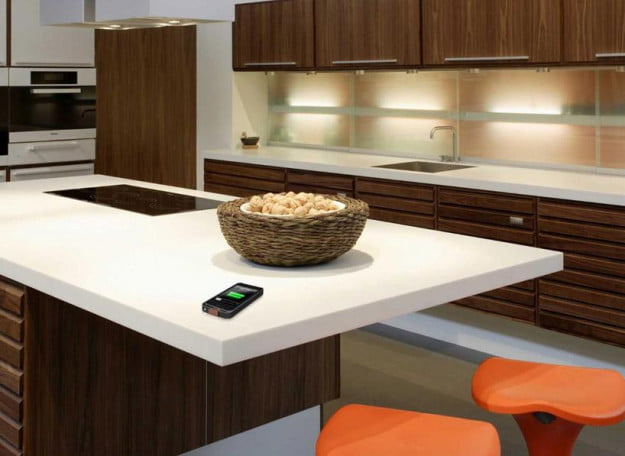 Dupont And Pma Aims To Make Everything A Wireless Charging Surface Even Kitchen Tops