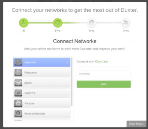 duxter connect networks