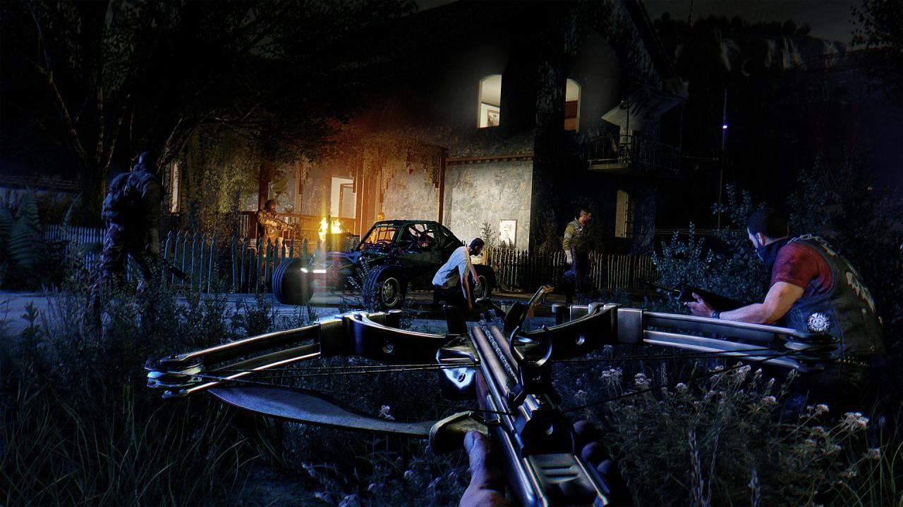 Dying Light: The Following at night