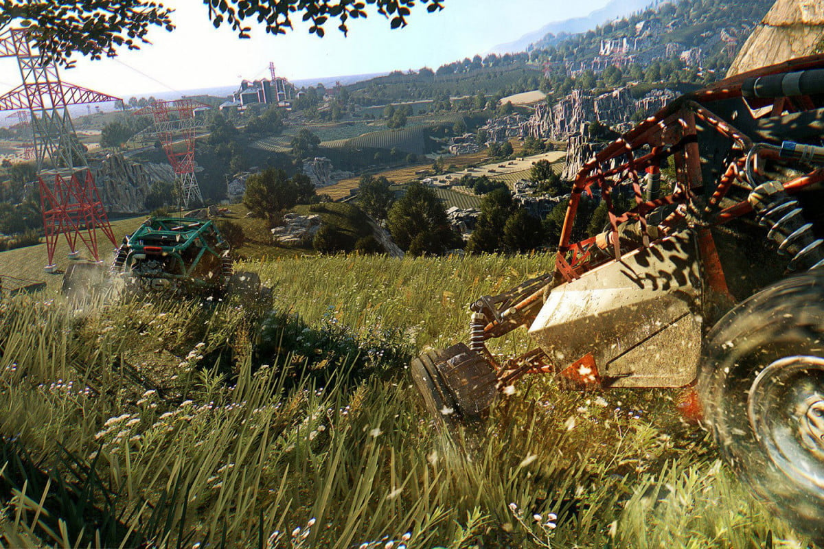 twitter powered slot car dying light the following vehicles cars dlc