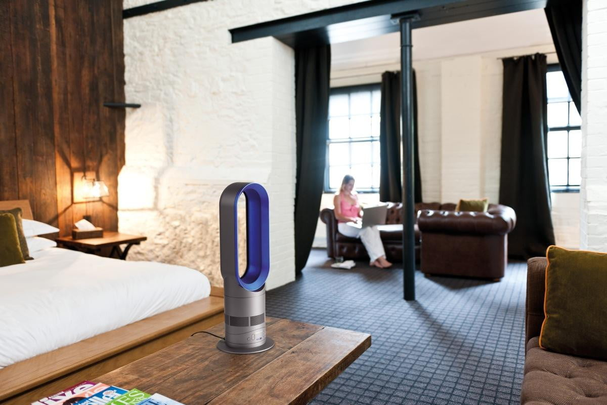 dyson am05 hot cool review digital trends. Black Bedroom Furniture Sets. Home Design Ideas