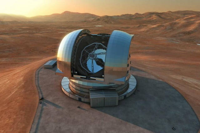 mountain top chili exploded make way worlds largest telescope e elt rendition