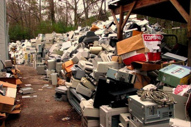 ways to repurpose a retired pc e waste