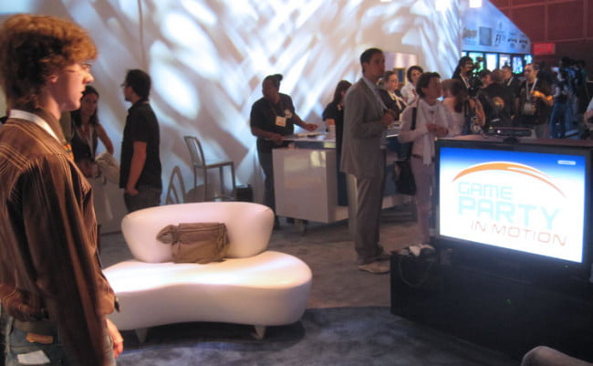 Playing with Kinect at E3 2010