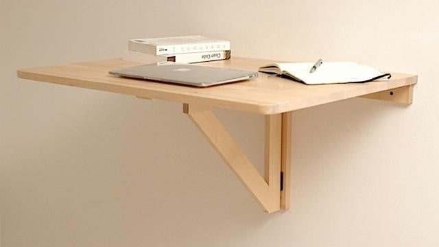 hanging wall desk