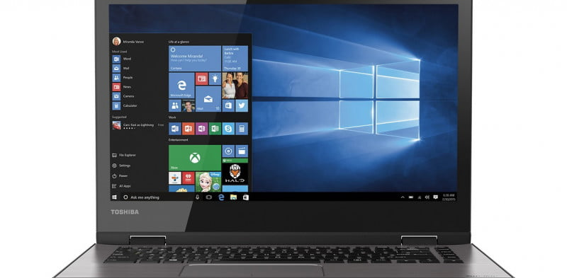toshiba satellite radius  review e w c x