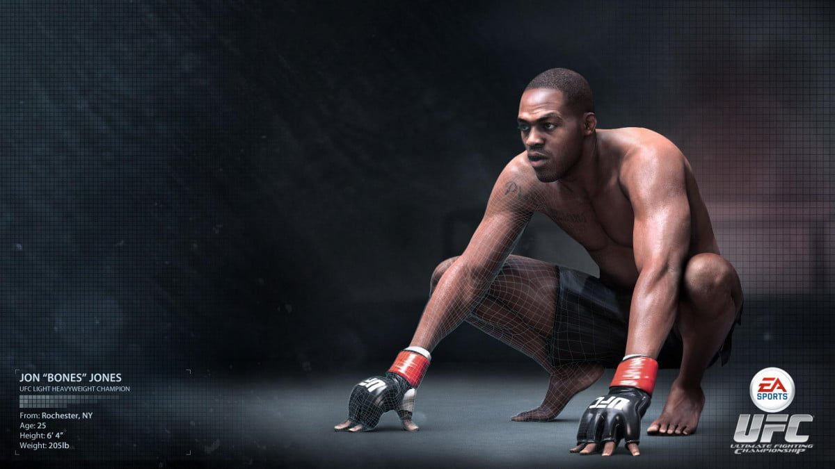 before ea sports ufc can enter the octagon it needs to be built  jon jones