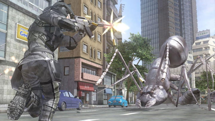 earth defense force  review screenshot