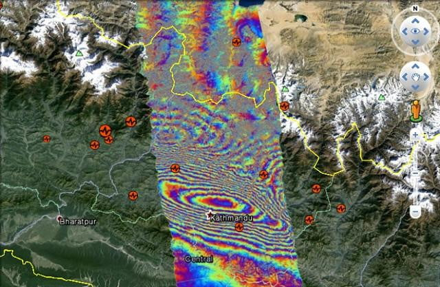 new satellite images shed light on the  magnitude nepal earthquake earthquakeheader