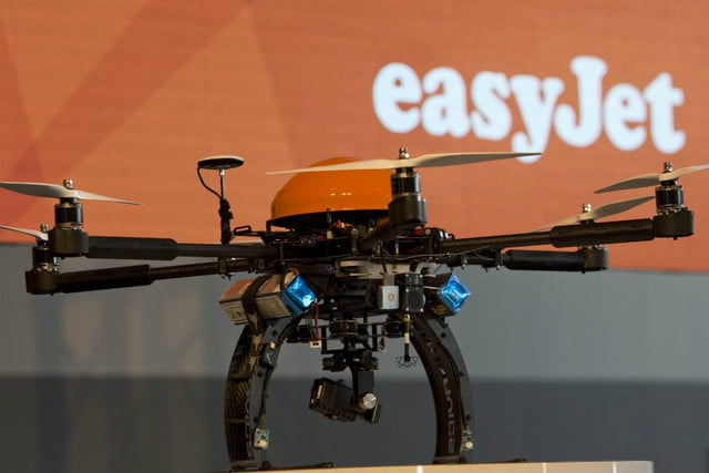 how one airline is using drone technology to make its service more efficient easyjet