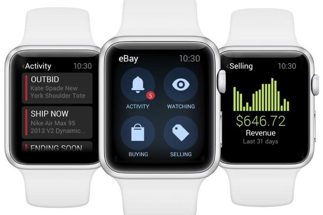 bid from your wrist with ebays new app for the apple watch ebay