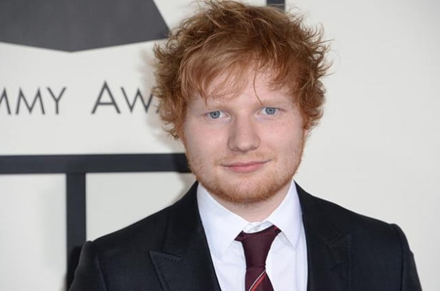ed sheeran quits social media grammy arrivals