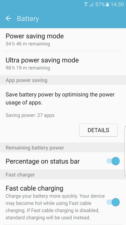 galaxy s  edge tips and tricks battery