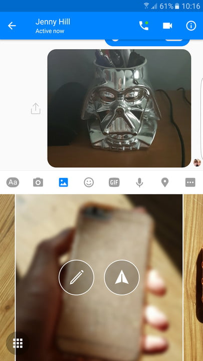 facebook messenger tips and tricks edit photo
