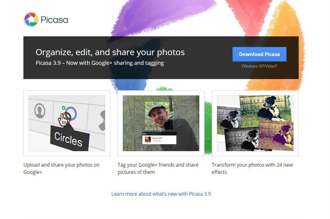 how to download picasa 3