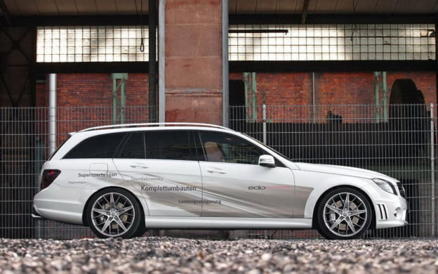 Edo Competition Mercedes-Benz C63 AMG wagon side view