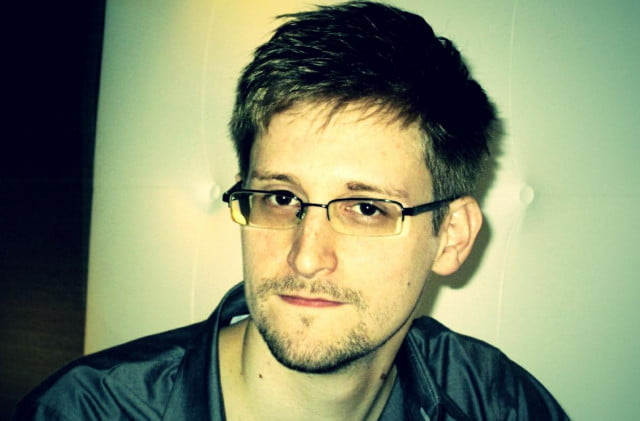 edward snowden has finally joined twitter pose
