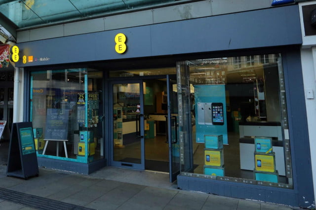 bt buys ee in the uk store front