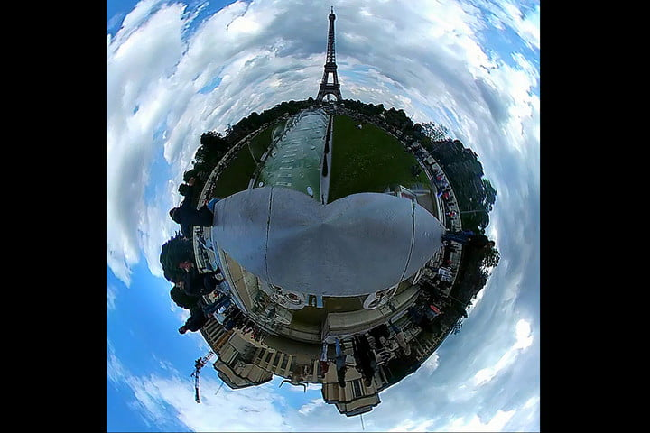 lg  cam world environment day video news eiffel tower