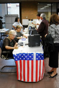 El Paso primary voting 2008 (shutterstock, frontpage, editorial only)