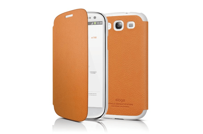 Elago G5 Leather Flip Case