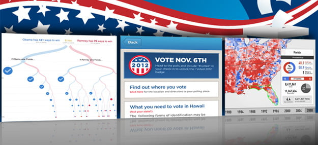 election apps presidential election 2012