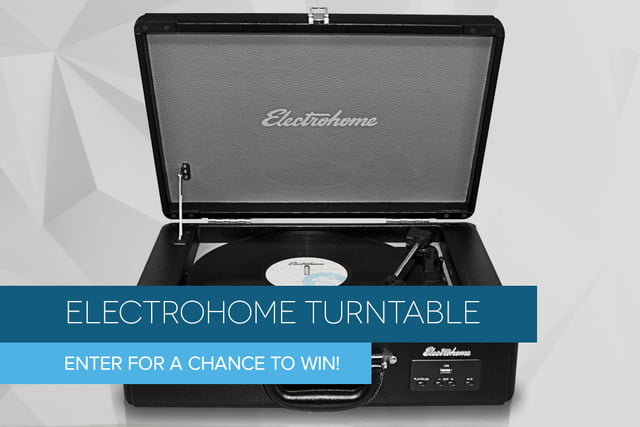 electrohome turntable giveaway