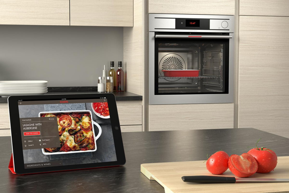 smart oven electrolux home automation connected mem