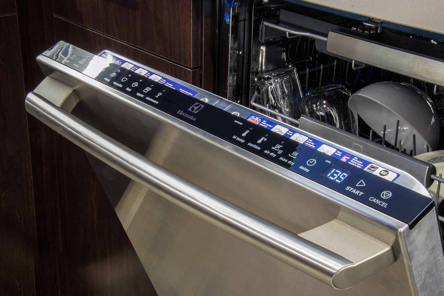 how to clean electrolux dishwasher