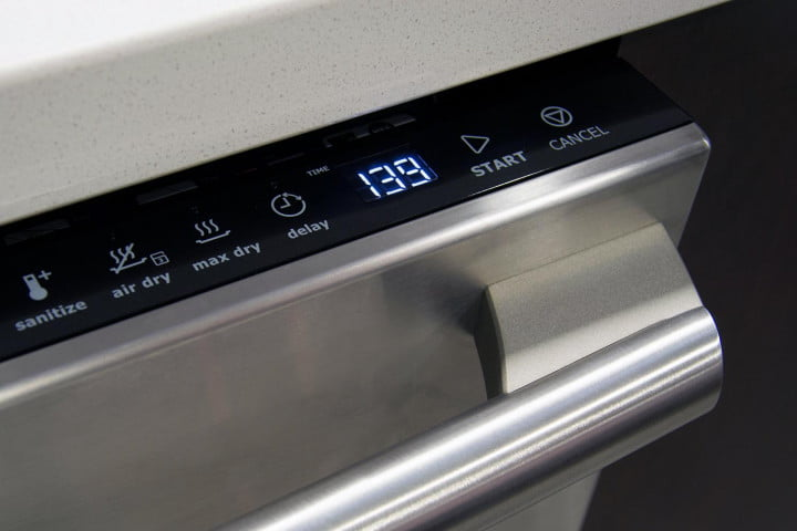 electrolux ei  id qs review dishwasher time buttons