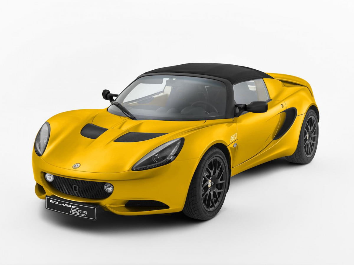 lotus elise  th anniversary special edition revealed s