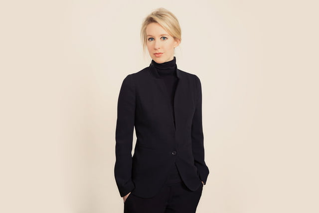 elizabeth holmes jennifer lawrence  turtleneck and blazer
