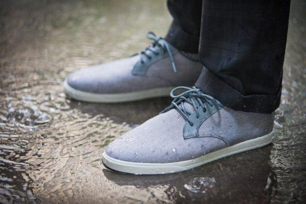 ellington charcoal waterproof suiting shoes by clae