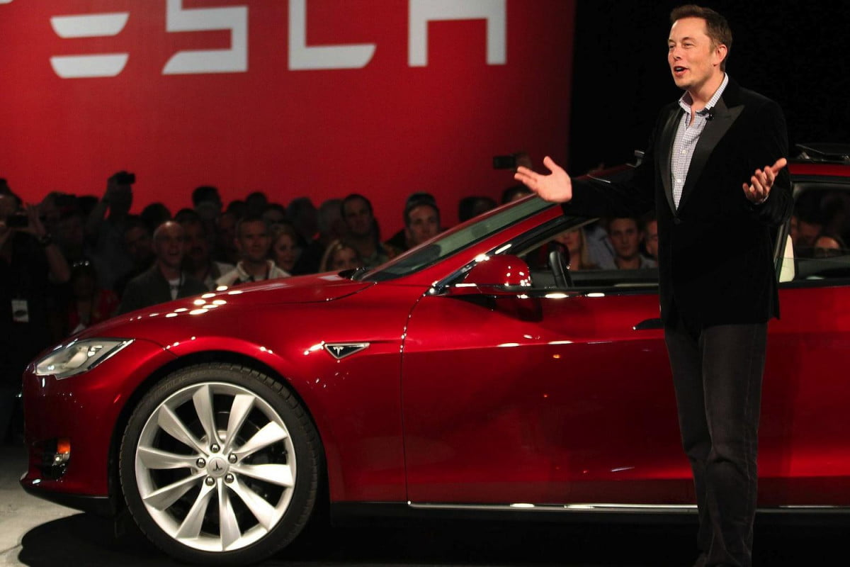 tesla leads way internet searches among automakers elon musk