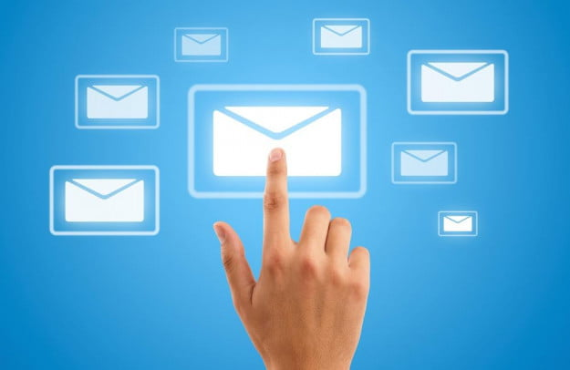 Email (hand,icon)