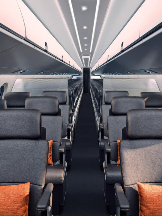 best airplane interior design concepts embraer e