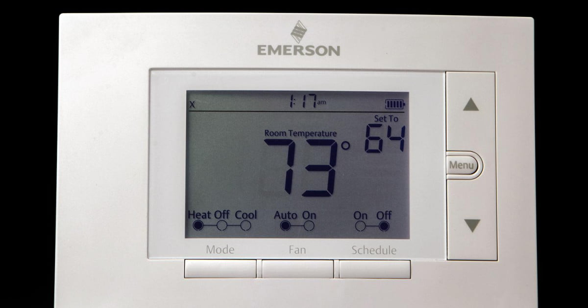 emerson sensi thermostat wiring diagram goodman heat pump