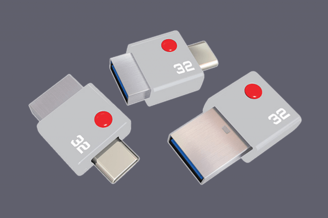 usb drive offers type c connections emtec duo a and