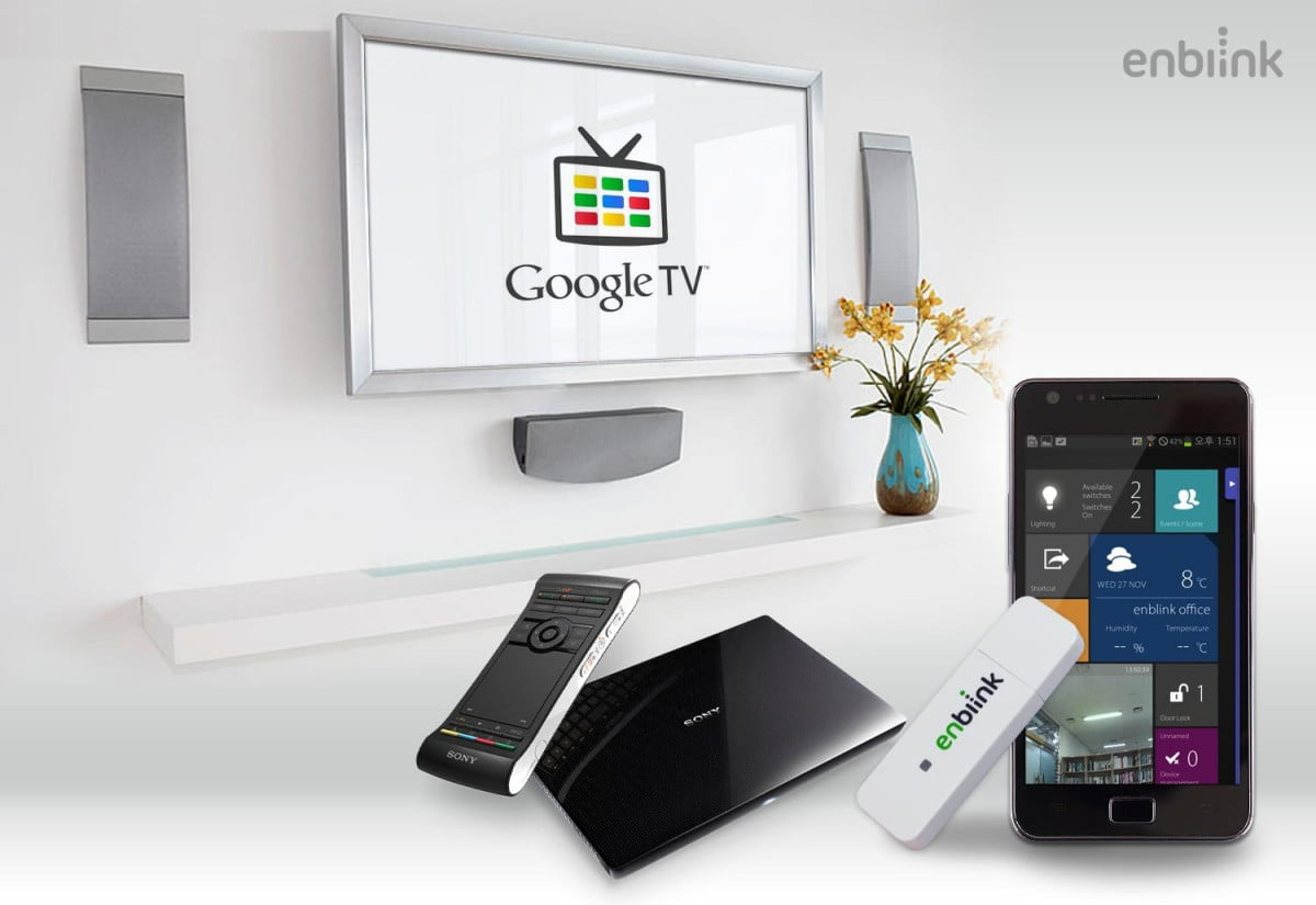 enblink dongle now lets control smart home devices voice commands z wave for google tv