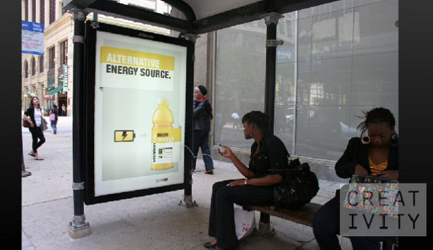 energy bus shelter